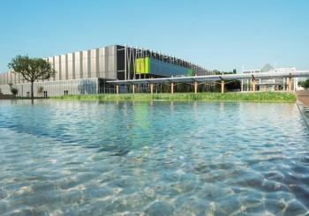 photo du des expositions de la Beaujoire et du nouveau hall XXL