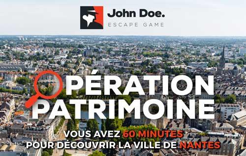 John Doe Opération Patrimoine